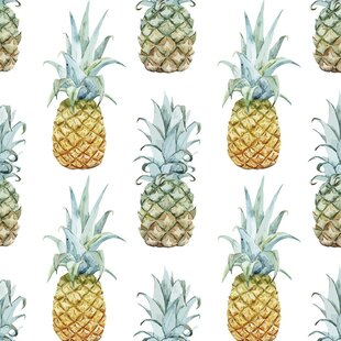 Pineapple Purist Removable 5 X 20 Wallpaper