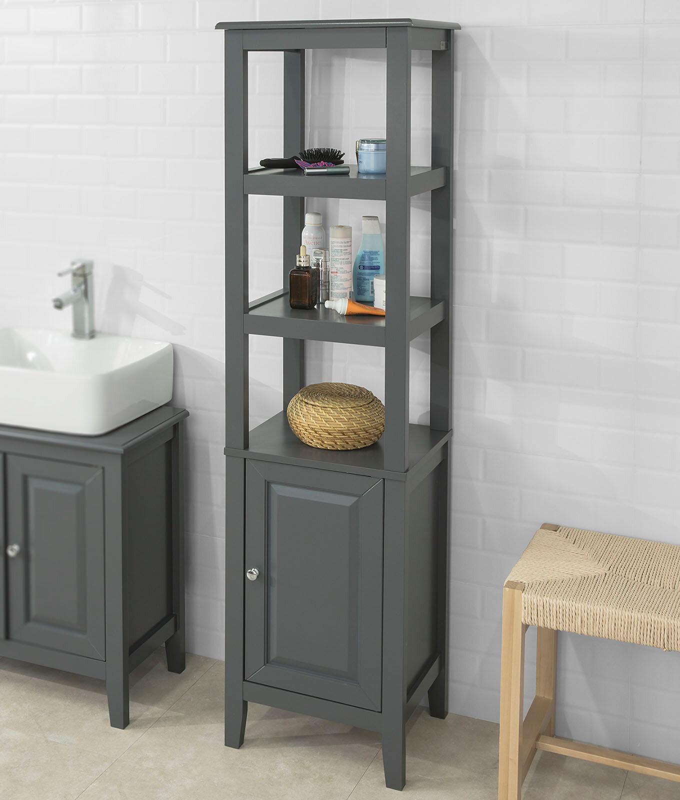 Burkhardt 7 x 7cm Tall Bathroom Cabinet