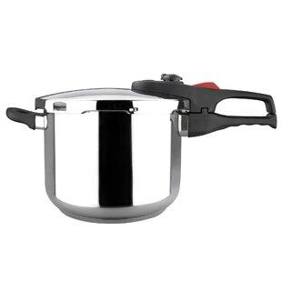 ee7a636ed12 Magefesa Practika Plus Stainless Steel Super Fast Pressure Cooker