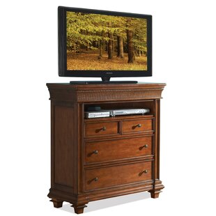 Leander 4 Drawer Media Chest by World Menagerie