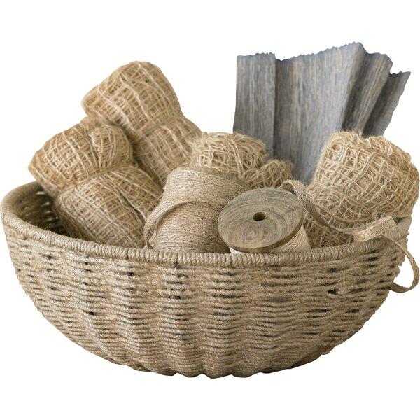 Woven Jute Baskets   Wayfair