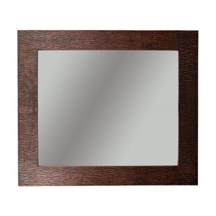 Affordable Boalt Hand Hammered Wall Mounted Mirror By Loon Peak