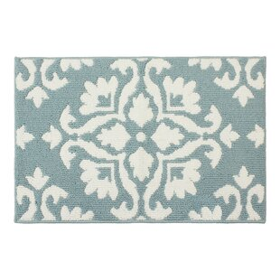 Best Reviews Mayhew Blue/White Area Rug By Laura Ashley