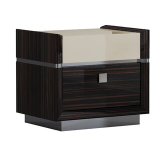 Compare Hufford 2 Drawer Nightstand by Orren Ellis