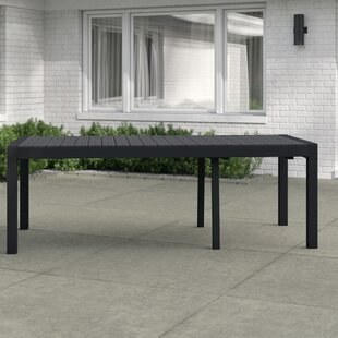 Matheson Extendable Aluminium Dining Table By Sol 72 Outdoor