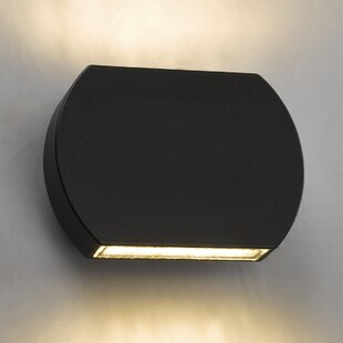Saltville 2-Light LED Outdoor Flush Mount By Sol 72 Outdoor