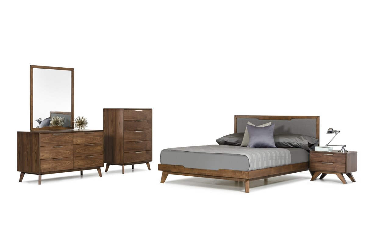 Hali Platform 5 Piece Bedroom Set