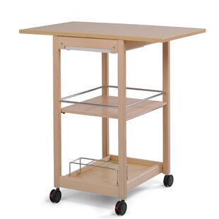 Servi-Tu Kitchen Trolley With Manufactured Wood Top By Foppapedretti