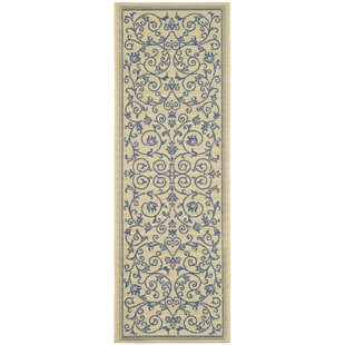 Bacall All Over Vine Indoor/Outdoor Area Rug by Alcott Hill #1
