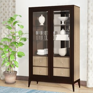Coletta Lighted China Cabinet by World Menagerie