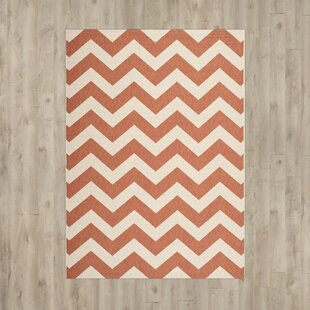 Mullen Terracotta/Beige Indoor/Outdoor Area Rug