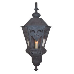 Affordable Morocco 1-Light Outdoor Wall Lantern By Laura Lee Designs