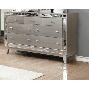 Mercer41 Jantzen 7 Drawer Dresser