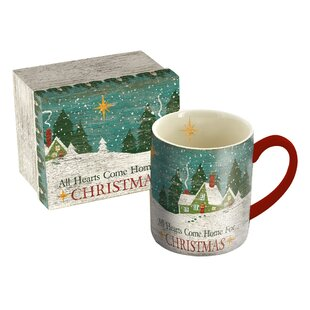Christmas Heart 14 oz. Mug
