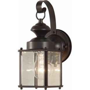 Bargain Brocton Outdoor Wall Lantern By Charlton Home