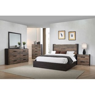 Steffan 6 Drawer Double Dresser with Mirror