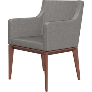 Bess Armchair Upholstered Wooden Arm Chair by Calligaris