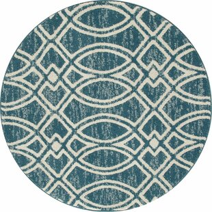 Bugg Aqua Area Rug by Wrought Studio