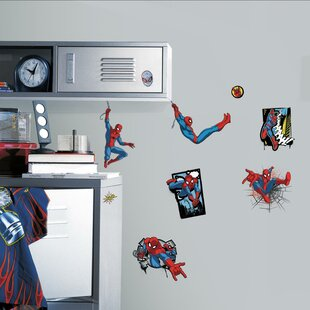 Spider Man Ultimate Comic Peel And Stick Wall Decal