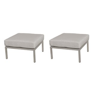 TK Classics Carlisle Ottoman with Cushion