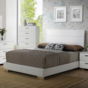 Lesher Upholstered Panel Bed