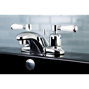 Kingston Brass Paris Centerset Bathroom Faucet with Drain Assembly Image