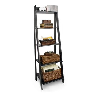 Seaberg Split 5 Shelf Ladder Bookcase by Red Barrel Studio Cheap