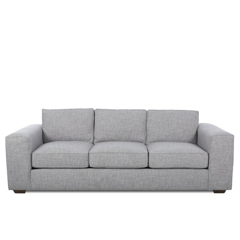 Alcott Hill  Skaggs Sofa Upholstery Material/Body Fabric: Zula Pumice