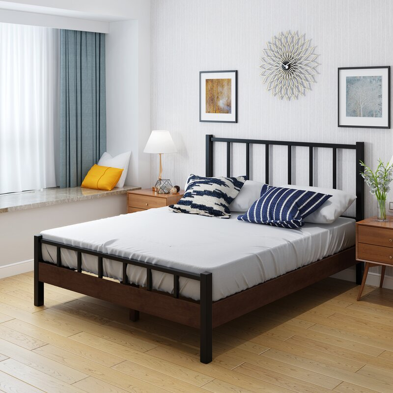 17 Stories Poitra Queen Bed Frame | Wayfair