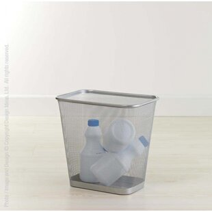 Design Ideas Metal Waste Basket