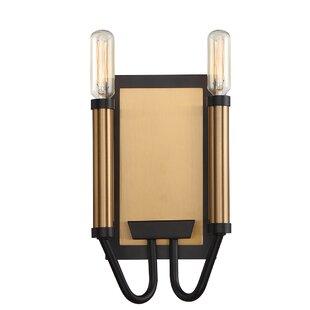 Mercer41 Hofer Duo-Tone 2-Light Candle Wall Light