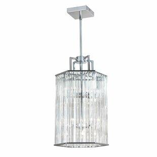 Radionic Hi Tech Aruba 6-Light Crystal Pendant