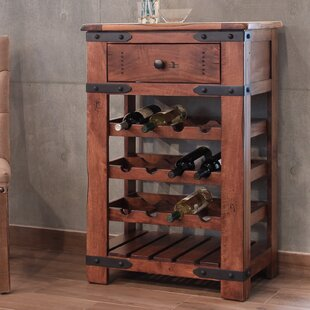 Loon Peak Rockdale 12 Bottle Floor Wine Rack