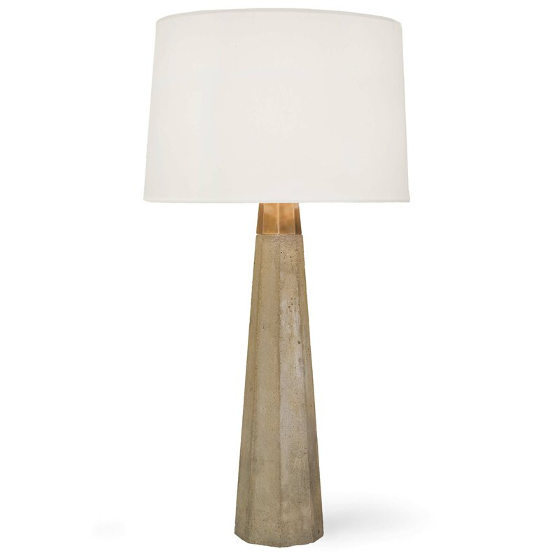 "Beretta 30"" Gray Table Lamp"