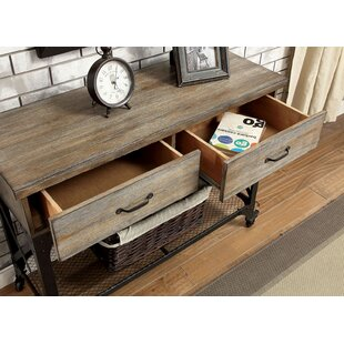 Maryanne Spacious Wood Console Table by Williston Forge