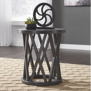Comparison Quigley End Table by Gracie Oaks