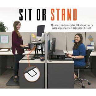 Symple Stuff Air Standing Desk Converter