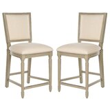 Fleur Counter & Bar Stool (Set of 2) by Longshore Tides