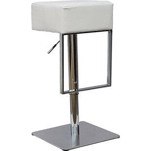 Wisconsin Height Adjustable Bar Stool By Metro Lane