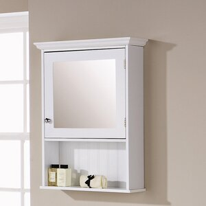 Turku 47cm X 67cm Surface Mount Mirror Cabinet