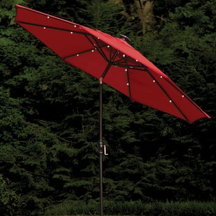 Allston 9' Lighted Umbrella