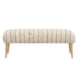 Cardero Upholstered Bench by Gracie Oaks