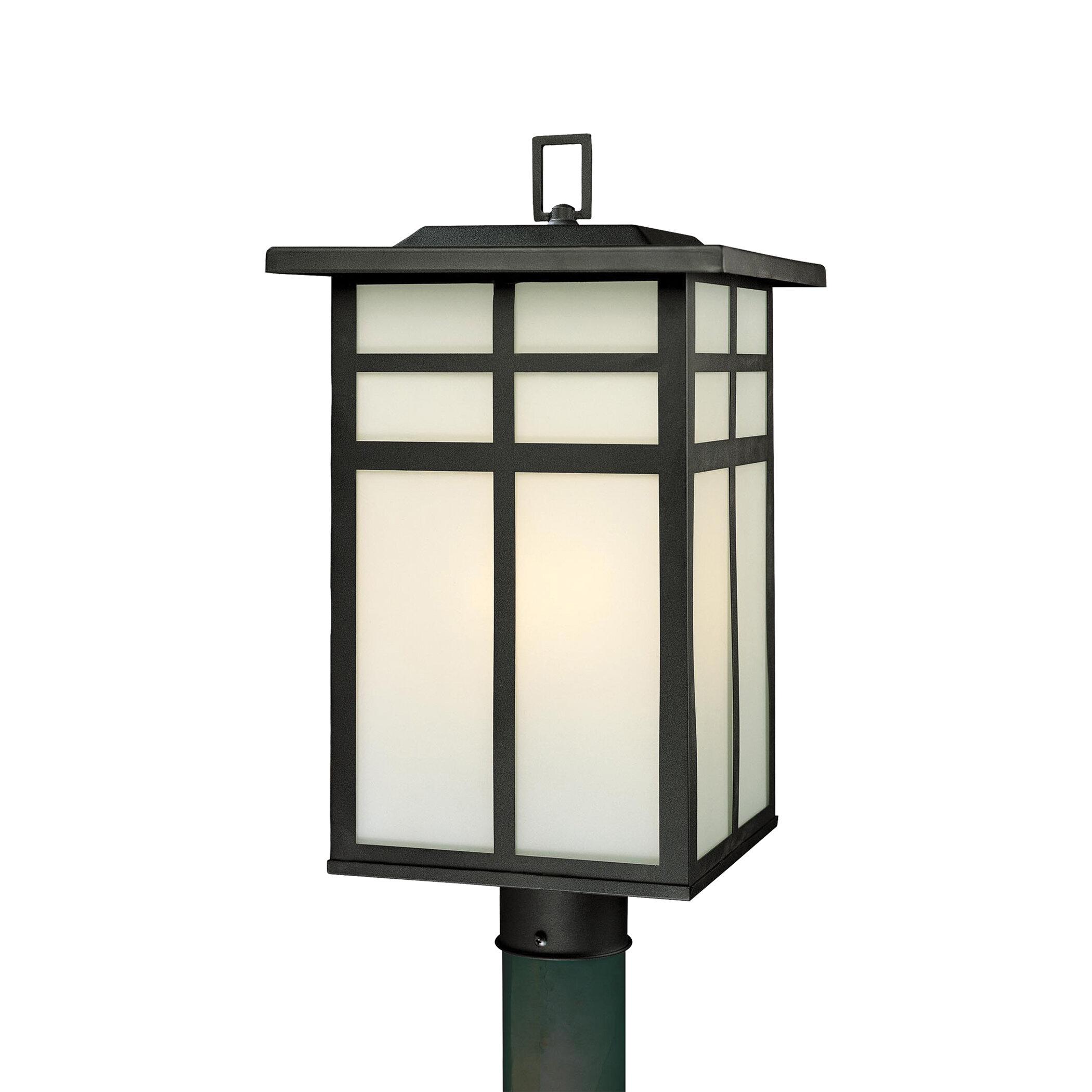 World Menagerie Bonfield Outdoor 3 Light Lantern Head Reviews Wayfair