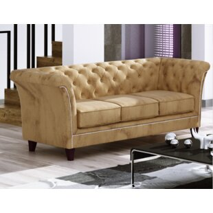 Candee 3 Seater Chesterfield Sofa By Rosalind Wheeler