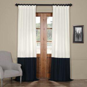 Elizabeth Sheer Rod Pocket Single Curtain Panel