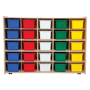 Best Contender 25 Compartment Cubby with Trays ByWood Designs