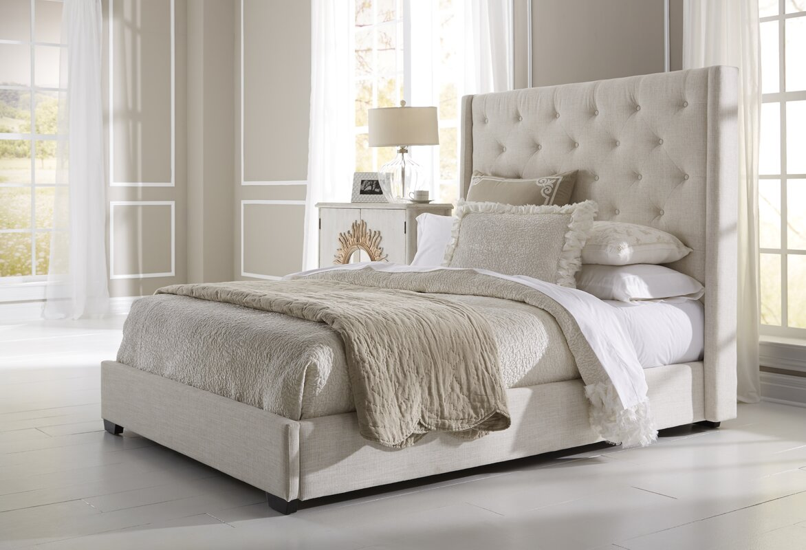 height group threshold headboard cal fashion bronson products upholsteredbronson width trim bed upholstered item king
