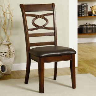 Affordable Price Carlton Solid Wood Dining Chair (Set of 2) by Hokku Designs Reviews (2019) & Buyer's Guide