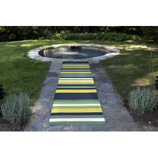 Ranier Hand-Woven Green Indoor/Outdoor Area Rug by Beachcrest Home New Design