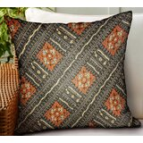 Maday Geometric Luxury Indoor/Outdoor Throw Pillow